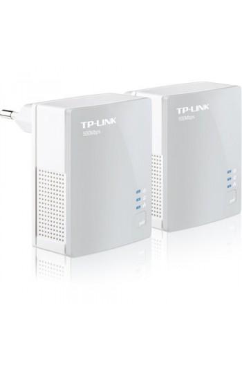 TP-LINK TL-PA4010KIT 500Mbps Tak-Kullan %85 Enerji Tasarruflu 300 Metre Mesafeli Nano Powerline Adaptör