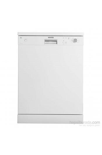 Vestel BMJ L509 W A+ 5 Programlı Beyaz Bulaşık Makinası