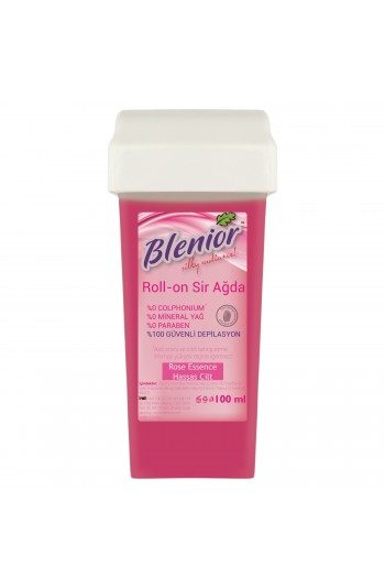 Blenior Rollon Sir Ağda Set 100 Ml Hassas