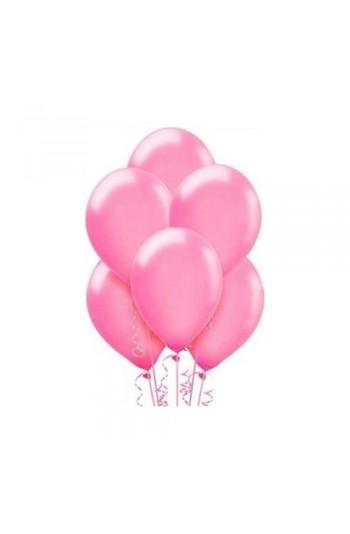 Pembe Metalik Balon 8'Li