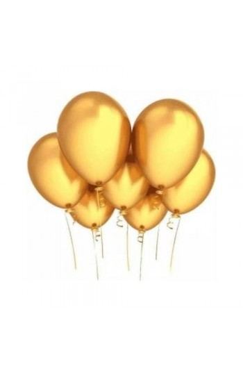 Altın Metalik Balon 8'Li