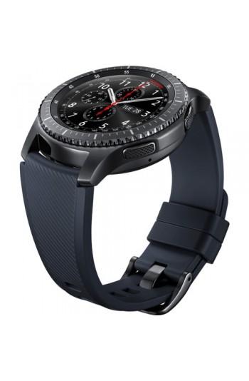 Samsung Siyah Silikon Gear S3 Kayış