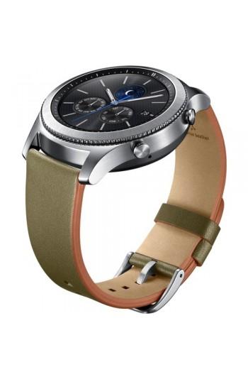 Samsung Yeşil Deri Gear S3 Kayış
