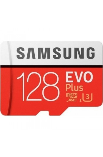 Samsung EVO Plus 128GB 100 MB/s microSDXC Kart (SD Adaptör)