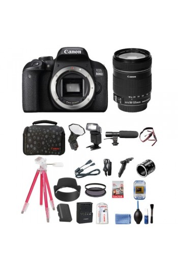 Canon Eos 800D + 18-135mm Lens