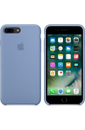 Apple iPhone 8 - iPhone 7 Plus Silikon Kılıf Azur Mavisi MQ0M2ZM/A (Apple Türkiye Garantili)