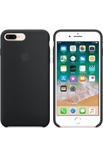 Apple iPhone 8 Plus / 7 Plus Silikon Kılıf Siyah MQGW2ZM/A (Apple Türkiye Garantili)