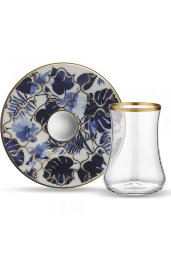Koleksiyon Dervish Çay Set 6'lı Amazon Mavi