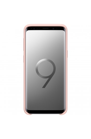 Samsung S9 Silicone Kılıf Pembe