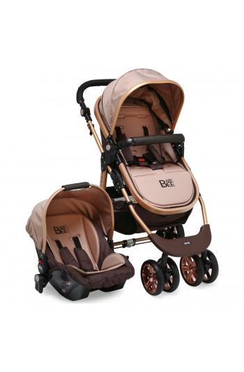 Babybee 540 Gold Travel Sistem Bebek Arabası 3 In 1
