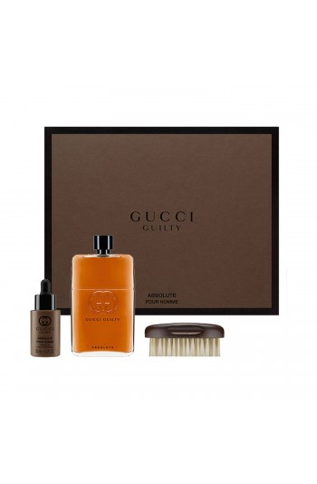 Gucci Guilty Absolute Pour Homme Edp 150 Ml + Sakal Yağı 30 Ml + Sakal Fırçası
