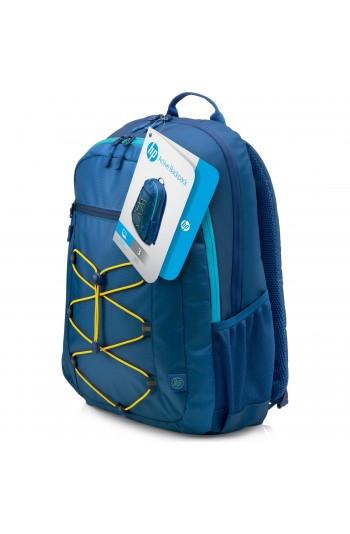 """HP Active 15.6"""" Mavi Notebook Sırt Çantası"""