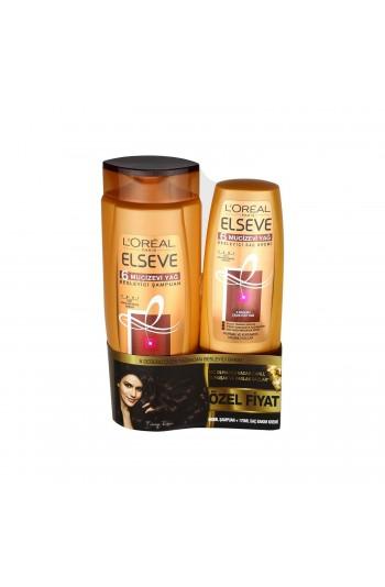 Elseve 6 Mucizevi Yağ Besleyici Şampuan 550 ml+Sac Kremi 175 ml