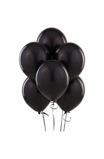 Siyah Balon 10lu